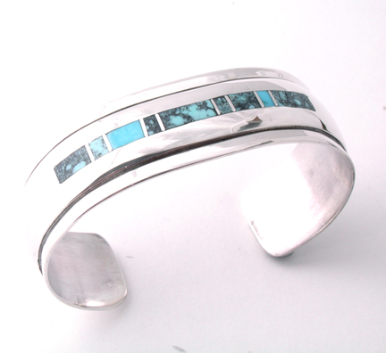 Turquoise Bracelet: Earthly View B22