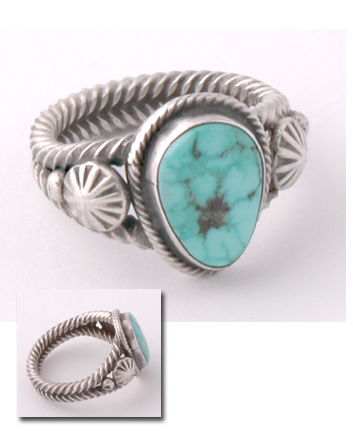 Turquoise Ring Old Style