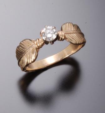 begay jewelry 14k gold rings - Navajo Wedding Rings